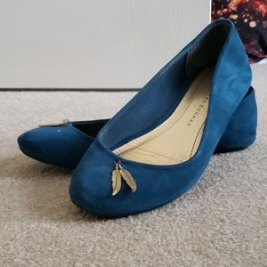 Blue Feather Flats